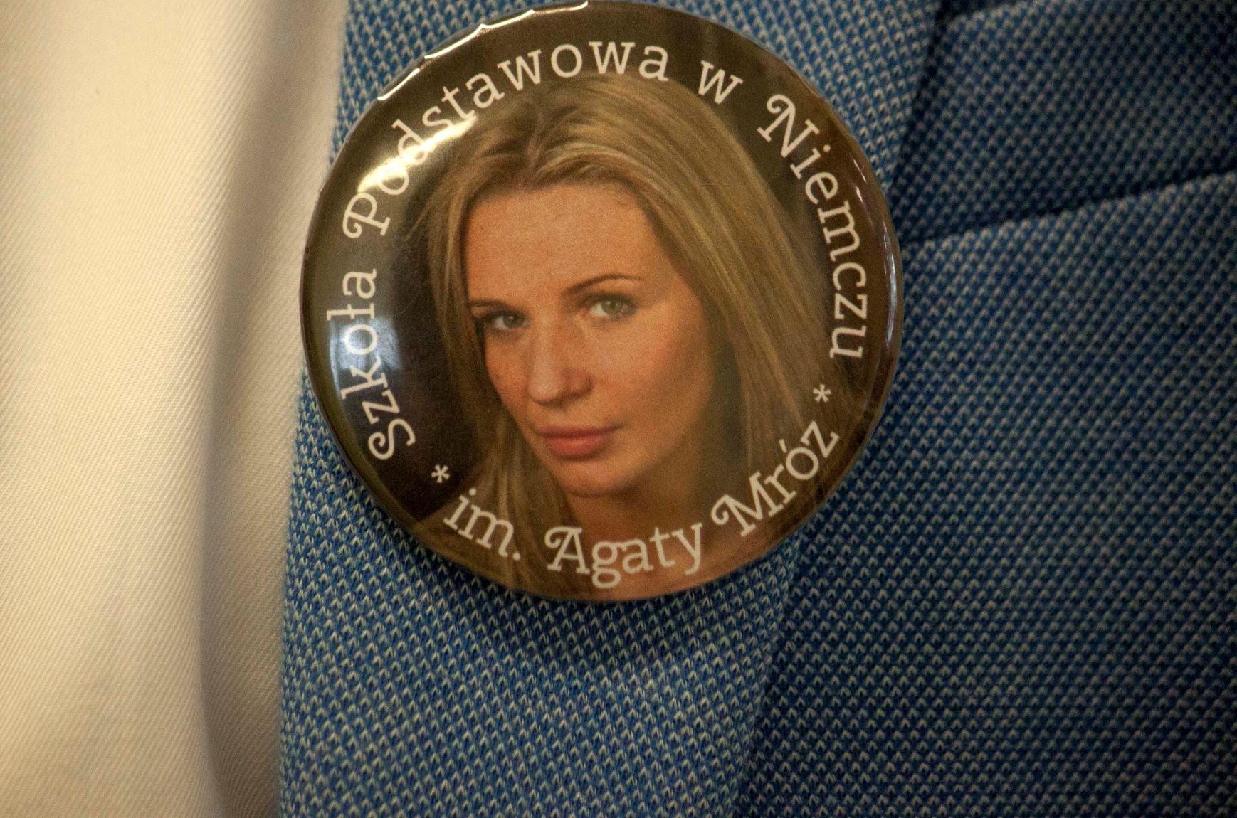22 listopada 2019. Uroczysty dzień w szkole w Niemczu – nadanie szkole imienia Agaty Mróz.